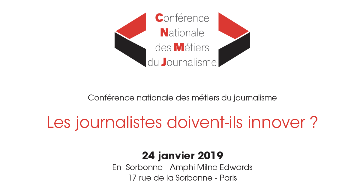 """Les journalistes doivent-ils innover ?"""